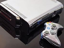 Xbox 360 cromado por XCM
