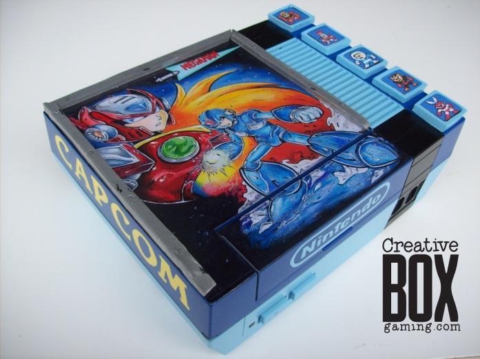 Custom MegaMan NES, criado por Creative Box Gaming