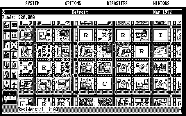 CGA Monochrome 640 x 200 (modo de vídeo 06H)