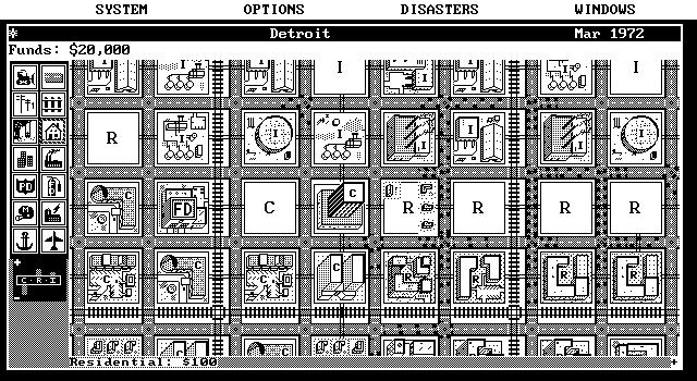 EGA Monochrome 640 x 350  (modo de vídeo 0FH)