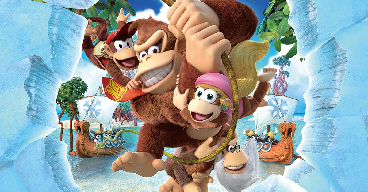 Retro Studios captura com maestria o espírito de Donkey Kong