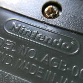 Logotipo Nintendo malfeito no verso do cartucho paralelo