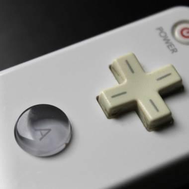 Detalhe do Wii Remote original