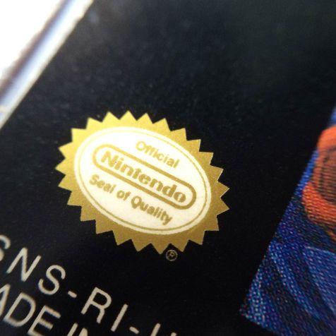 Selo de Qualidade impresso em cor especial dourada