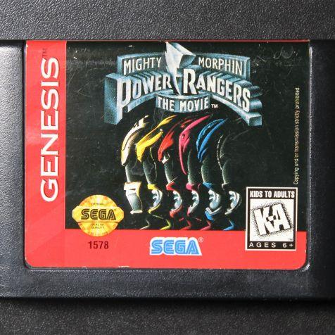 Cartucho de Mega Drive