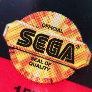 Alguns cartuchos possuem o Selo de Qualidade Sega