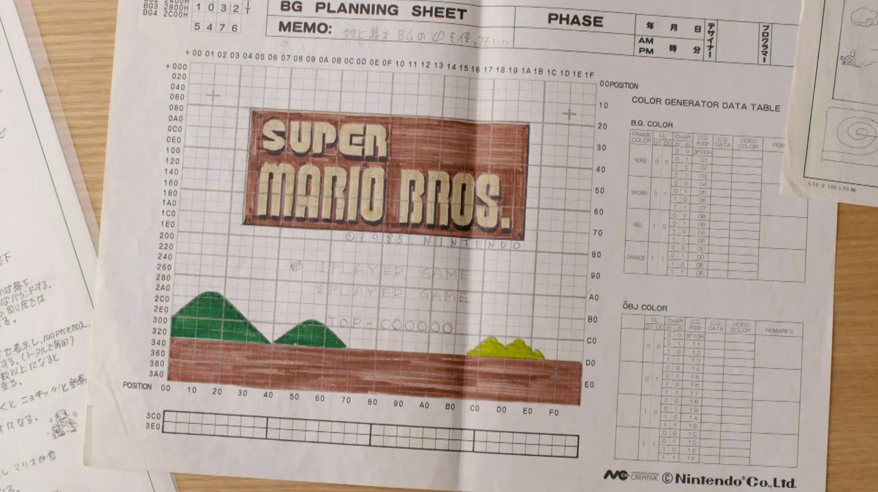 Super-Mario-Bros-Planning-Sheet