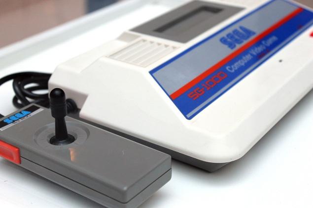 O SG-1000 foi o primeiro videogame da Sega, de 1983