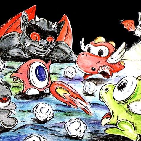 Devil e Tamagon (Devil World) poderiam trabalhar em equipe