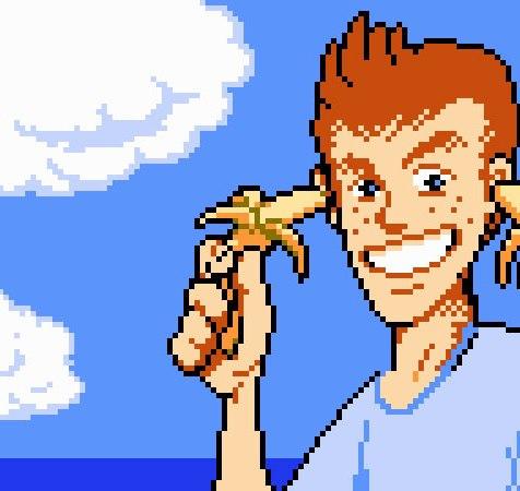 Mike Jones (StarTropics) combinaria ataques com taco de baseball, yo-yo e bananas