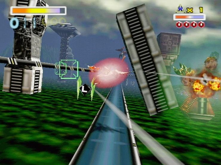 Star-Fox-64-gameplay
