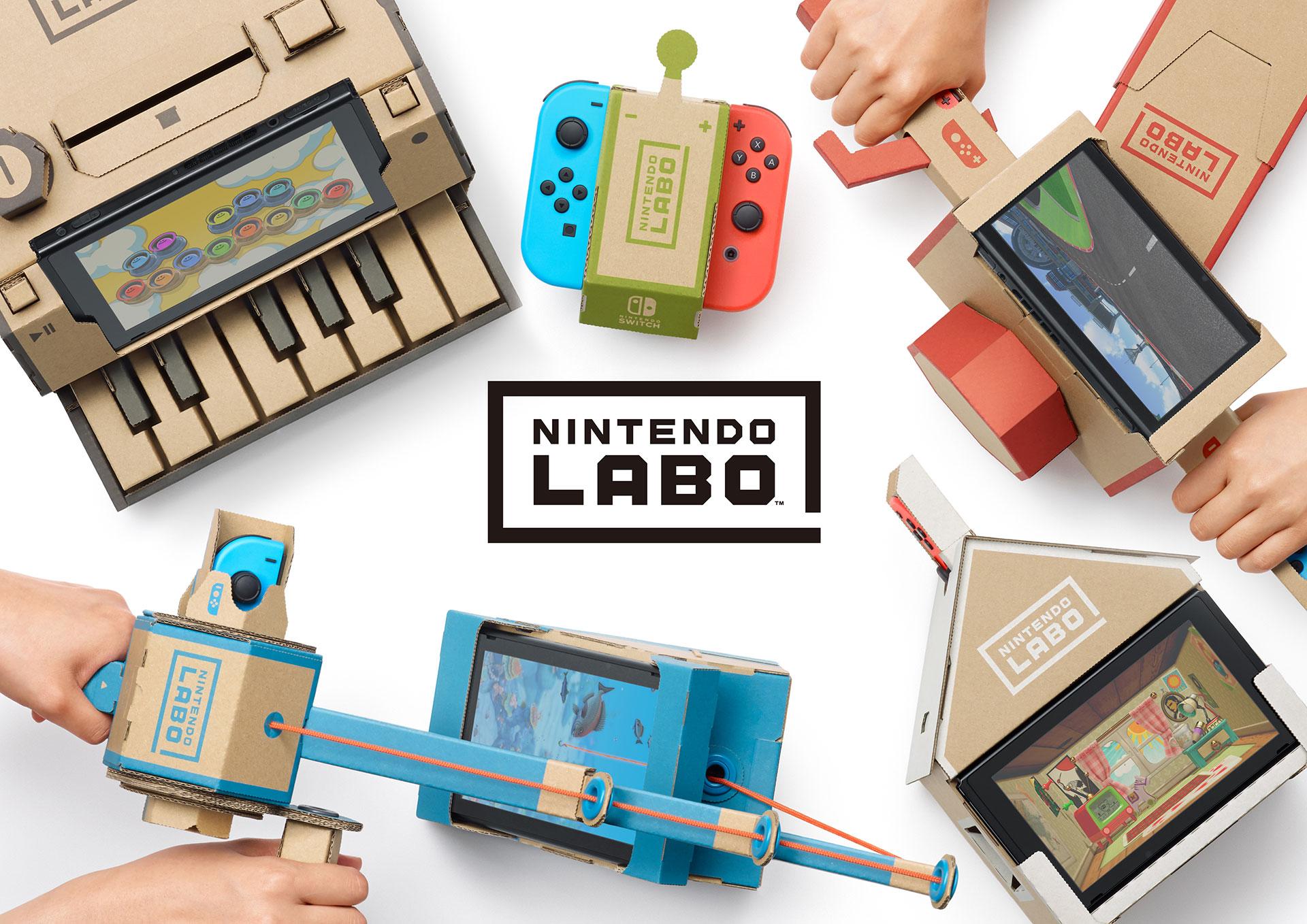 Por que eu acho o Nintendo Labo interessante