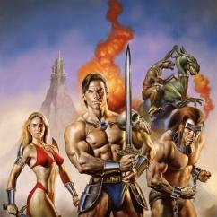 Boris Vallejo Sword and Magic 1993