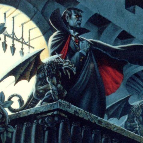 Trabalho de Clyde Caldwell para a campanha Ravenloft (1983)