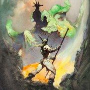 The Norseman (1972), arte de Frank Frazetta