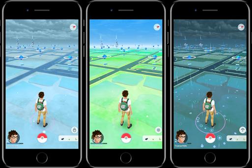 Pokemon-Go-Weather-UI