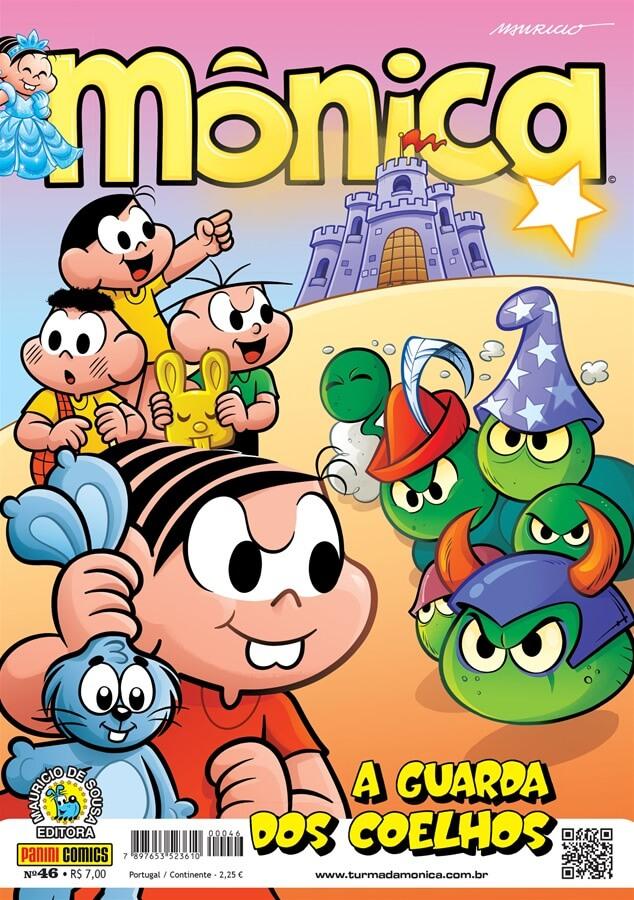 Capa da revista em quadrinhos Mônica, edição nº 46 de fevereiro de 2019